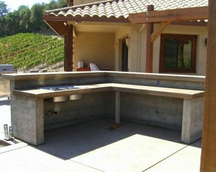 outdoor kitchens - lippincott concrete